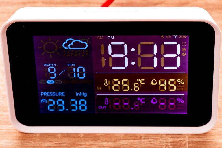 YuiHome időjárás állomás teszt 7