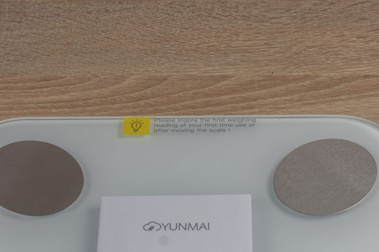 Xiaomi Yunmai Mini 2 okosmérleg teszt 7