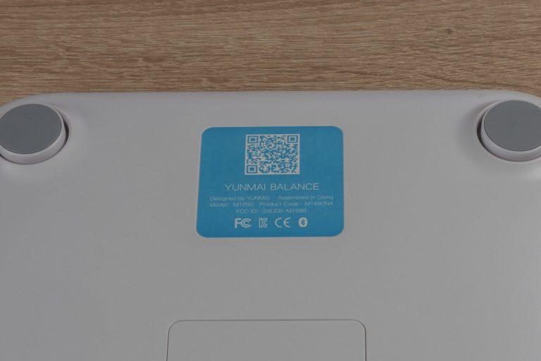 Xiaomi Yunmai Mini 2 okosmérleg teszt 5