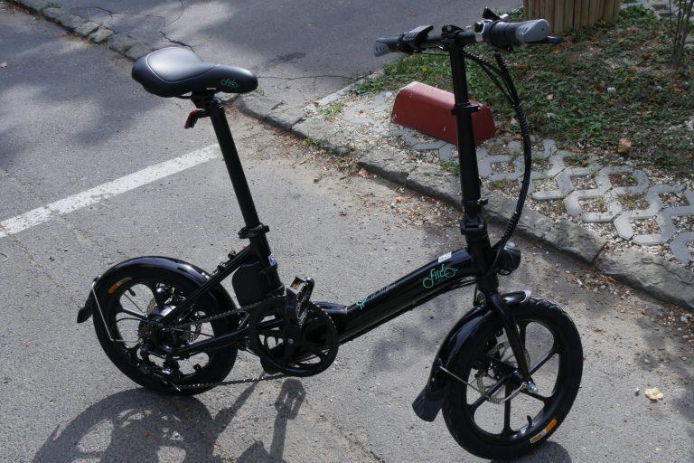 Fiido D3S elektromos bicikli teszt 7