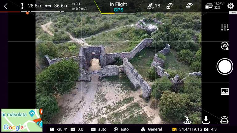 Xiaomi Fimi X8 SE drón teszt 34