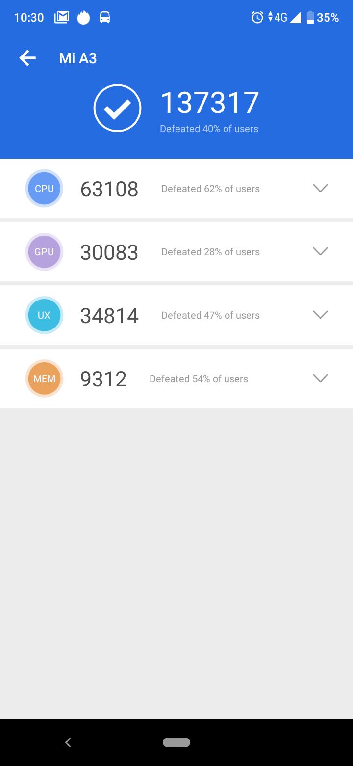 Xiaomi Mi A3 okostelefon teszt 10
