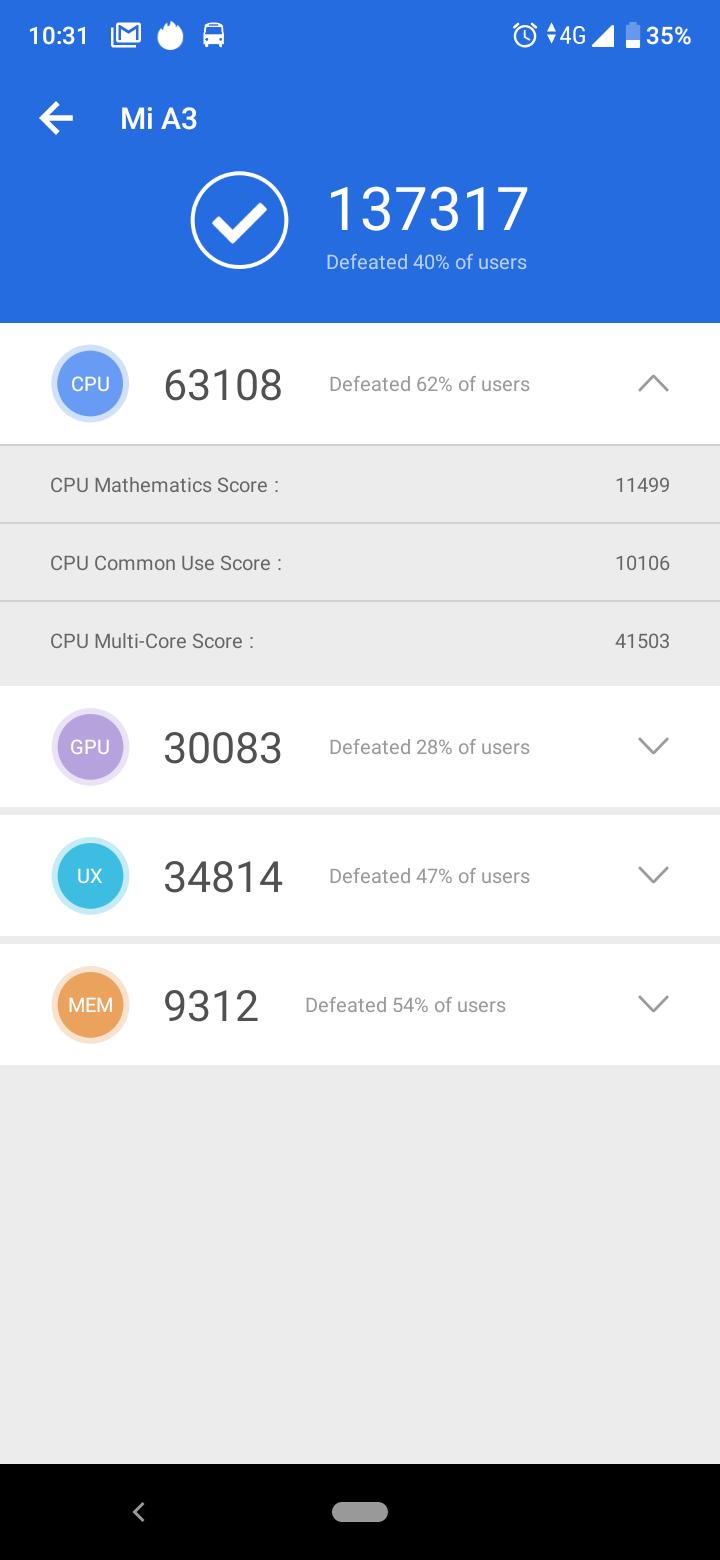 Xiaomi Mi A3 okostelefon teszt 11