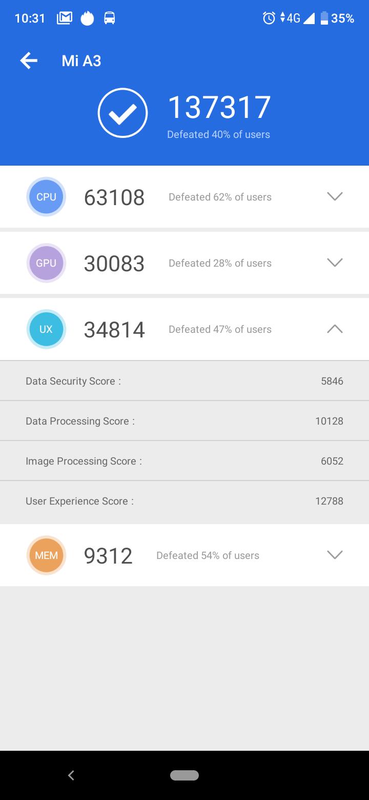 Xiaomi Mi A3 okostelefon teszt 13