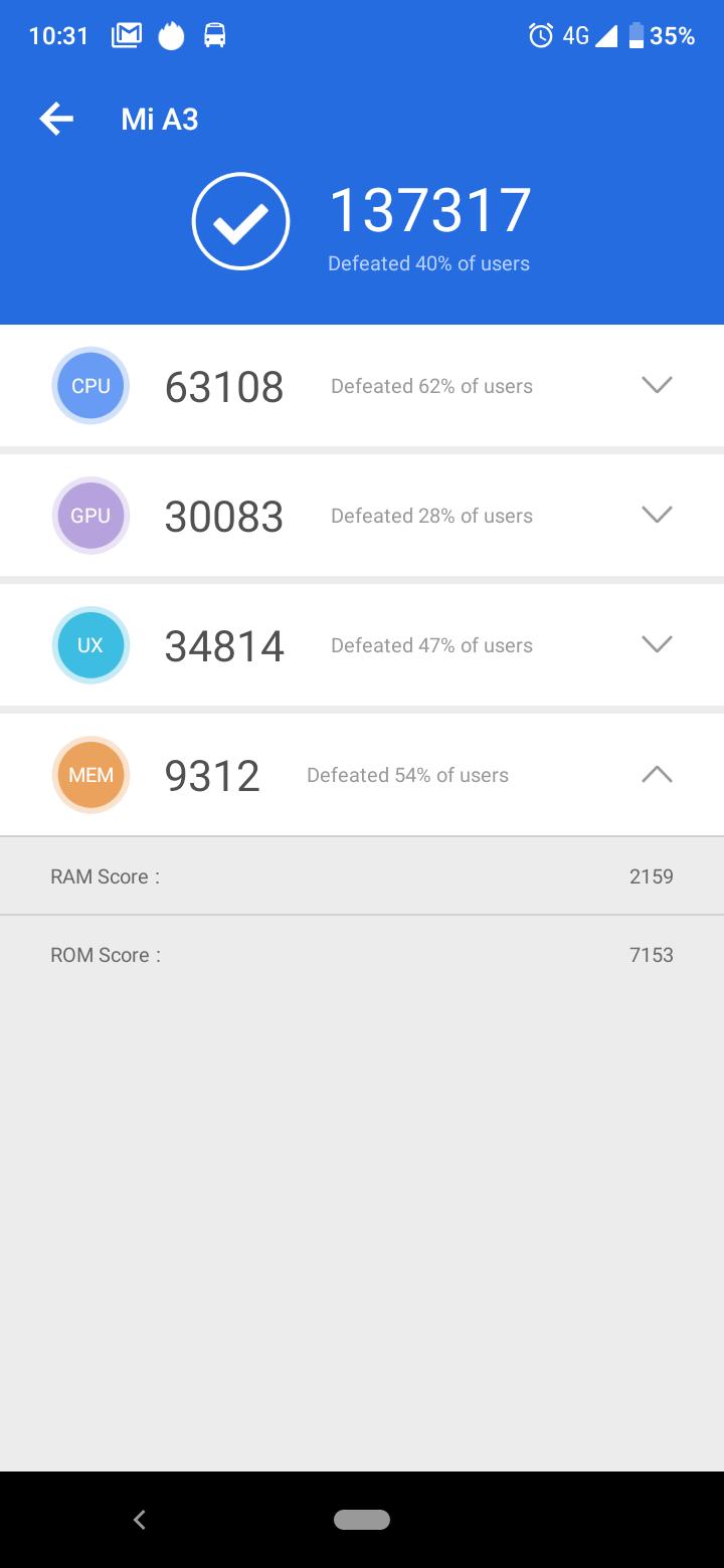 Xiaomi Mi A3 okostelefon teszt 14