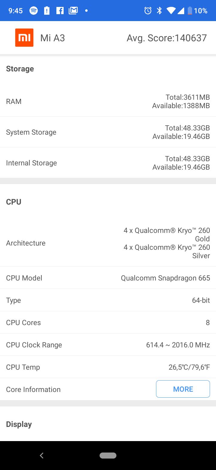 Xiaomi Mi A3 okostelefon teszt 5