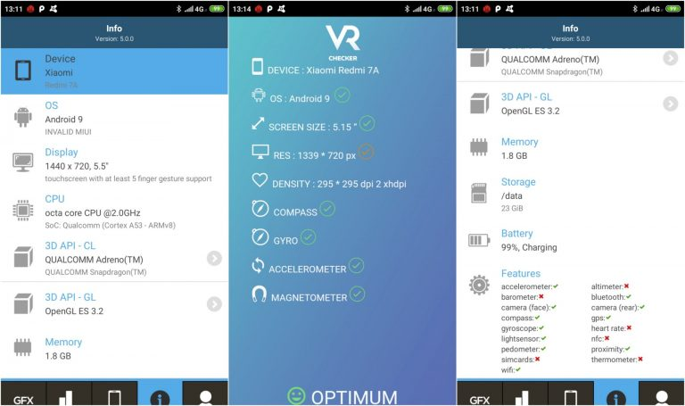 Redmi 7A okostelefon teszt 39