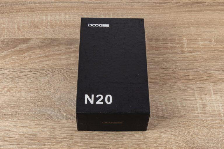 Doogee N20 okostelefon teszt 2