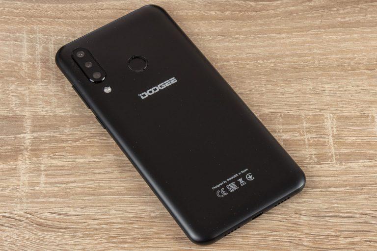 Doogee N20 okostelefon teszt 13