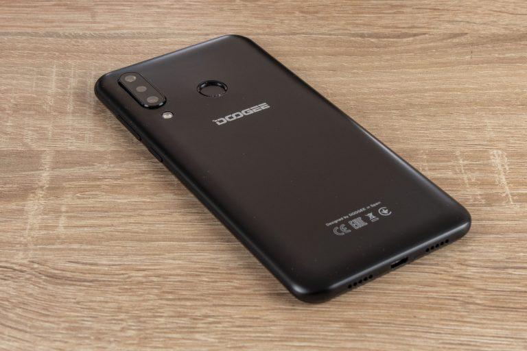 Doogee N20 okostelefon teszt 10
