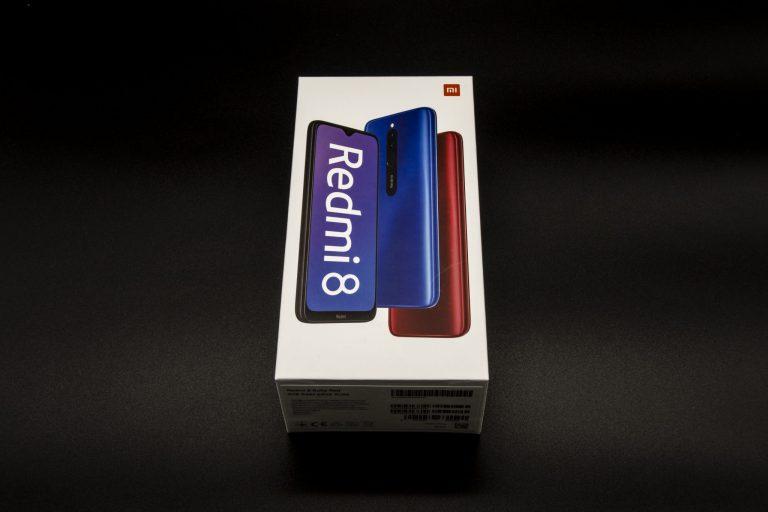 Redmi 8 okostelefon teszt 2