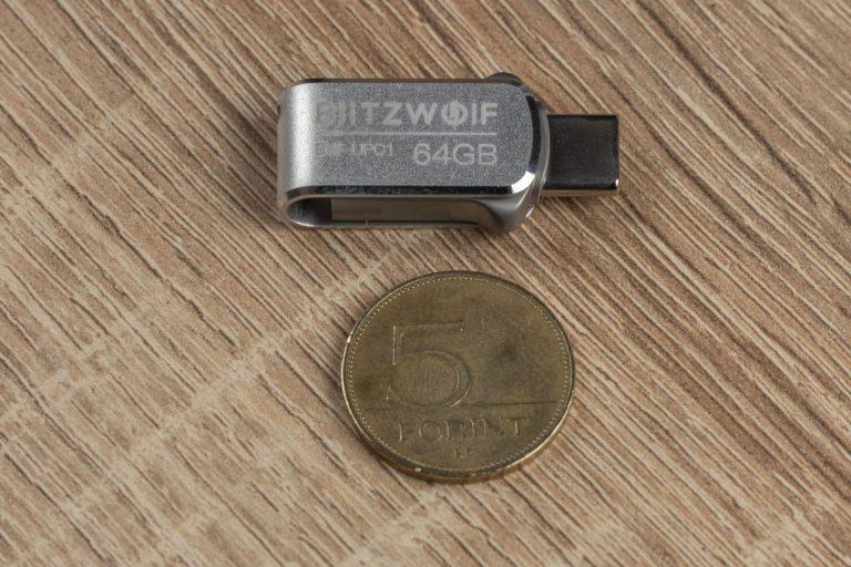 BlitzWolf BW-UPC1 pendrive teszt 5
