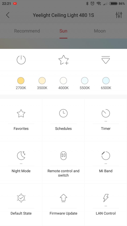 Xiaomi Yeelight YLXD42YL okoslámpa teszt 17