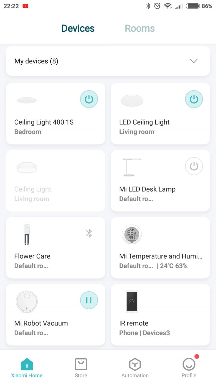 Xiaomi Yeelight YLXD42YL okoslámpa teszt 18