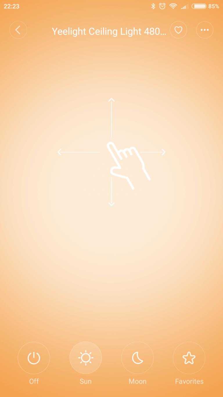 Xiaomi Yeelight YLXD42YL okoslámpa teszt 19
