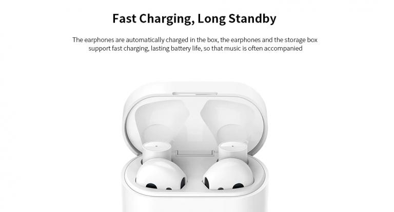 Xiaomi Air 2 TWS fülhallgató 8