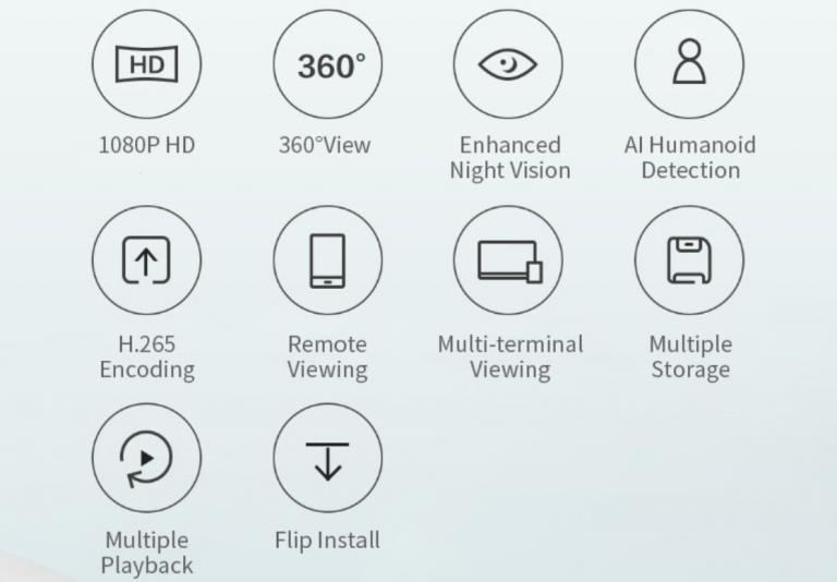 Xiaomi Mijia kamera olcsón 3