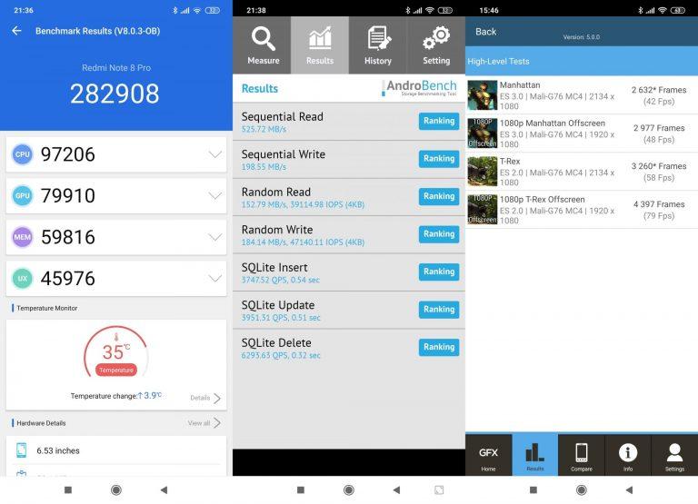 Redmi Note 8 Pro okostelefon teszt 18