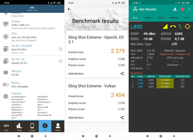 Redmi Note 8 Pro okostelefon teszt 19