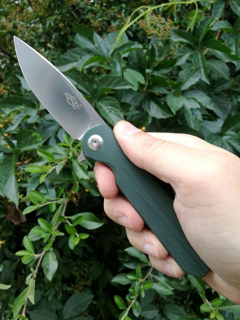 Ganzo FH41 kés teszt 10