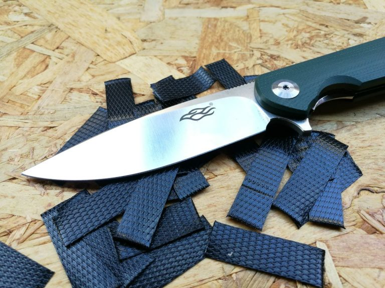 Ganzo FH41 kés teszt 3