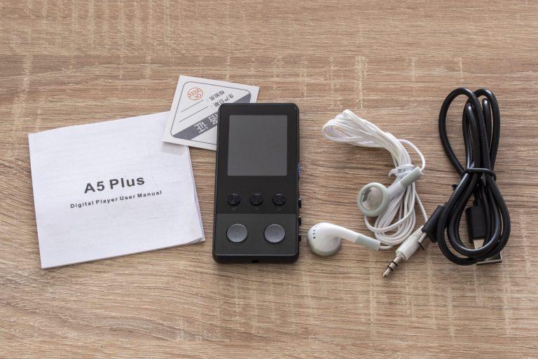A5 Plus mp3 lejátszó teszt 3