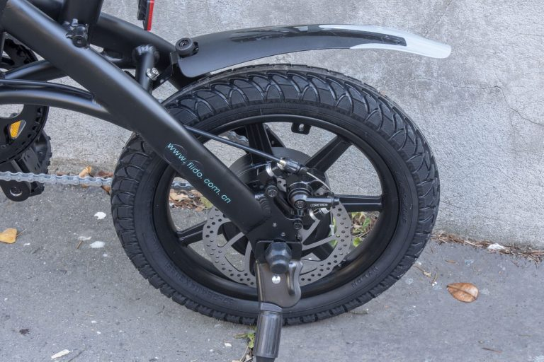 Fiido D1 elektromos bicikli teszt 9