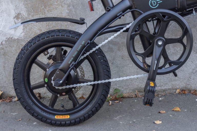 Fiido D1 elektromos bicikli teszt 25