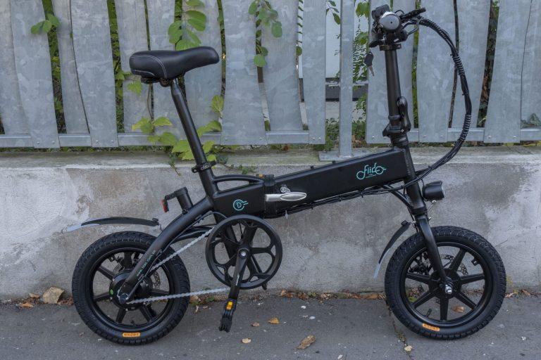 Fiido D1 elektromos bicikli teszt 2