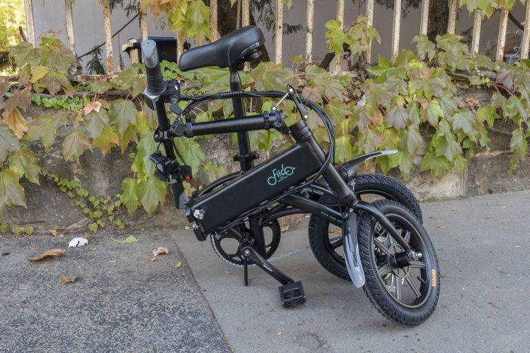 Fiido D1 elektromos bicikli teszt 4