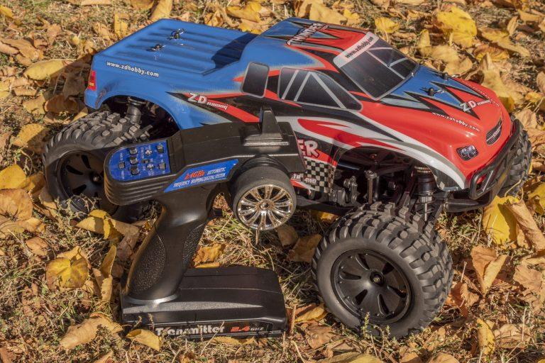 ZD Racing Thunder ZMT-10 távirányítós autó teszt 15