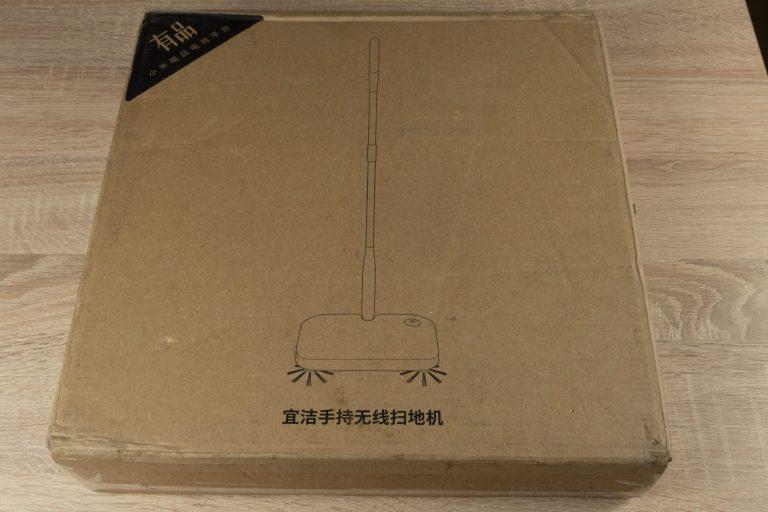 Xiaomi Yijie YE-01 elektromos seprű teszt 15