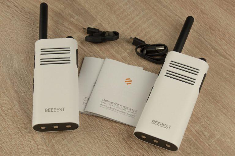 Xiaomi Beebest A208 walkie-talkie teszt 11