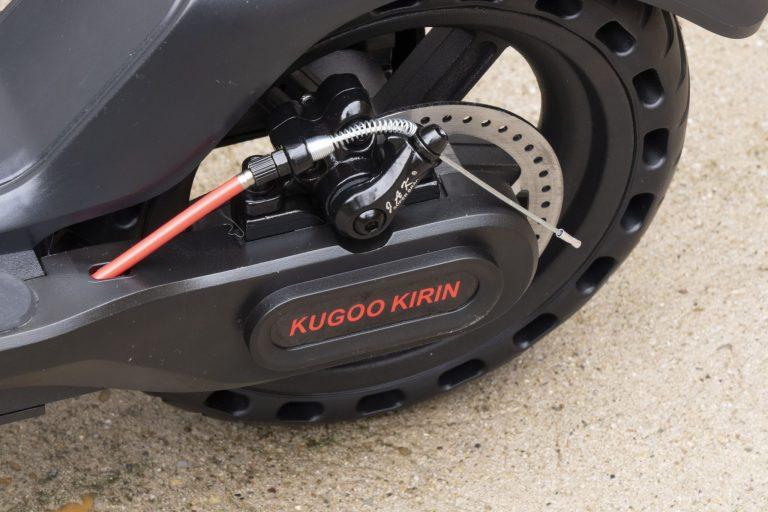 Kugoo Kirin ES2 elektromos roller teszt 31