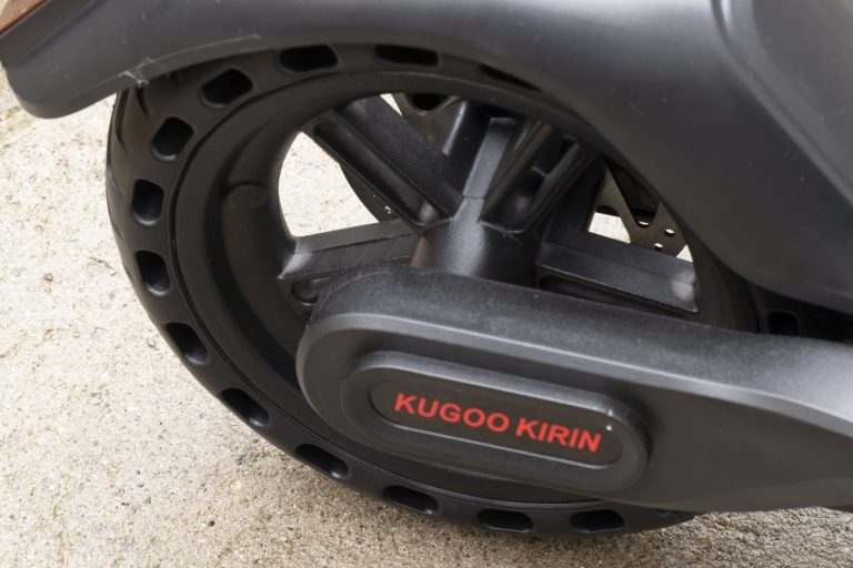 Kugoo Kirin ES2 elektromos roller teszt 17