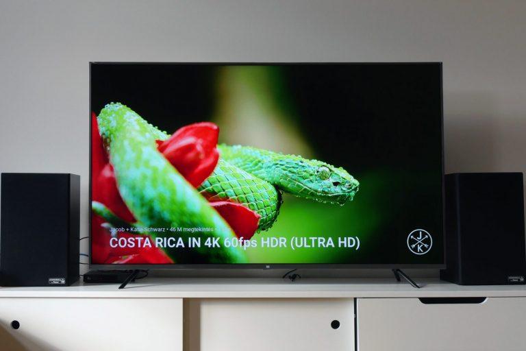 Xiaomi Mi TV 4S és 4A teszt 14