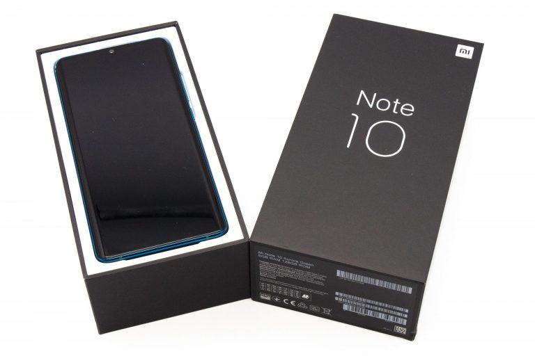 Xiaomi Mi Note 10 okostelefon teszt 2