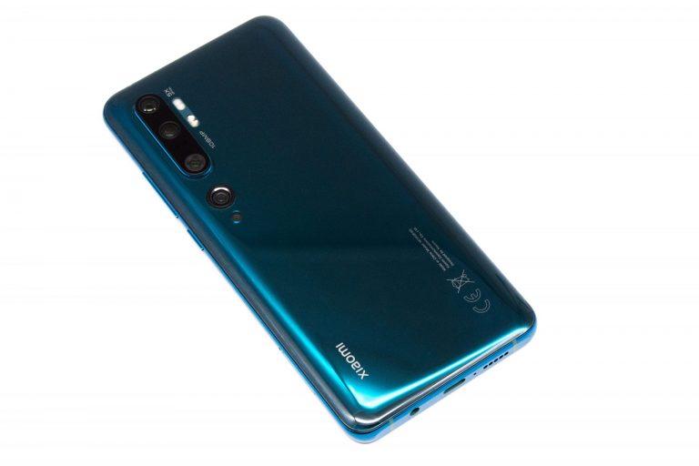 Xiaomi Mi Note 10 okostelefon teszt 8