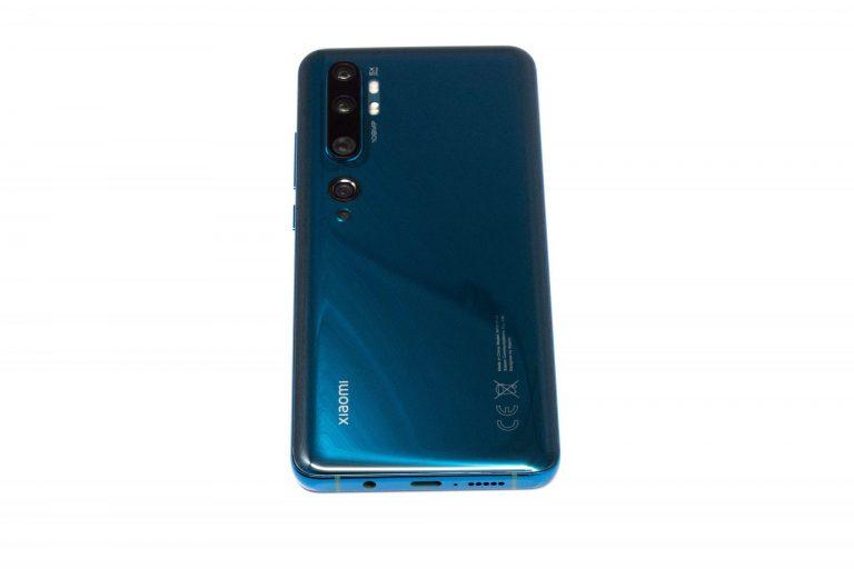 Xiaomi Mi Note 10 okostelefon előzetes 7