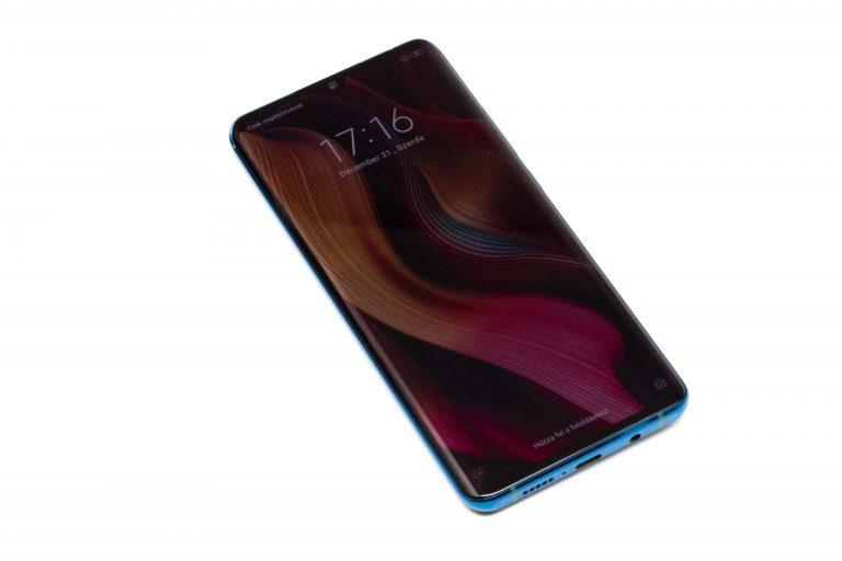 Xiaomi Mi Note 10 okostelefon teszt 4