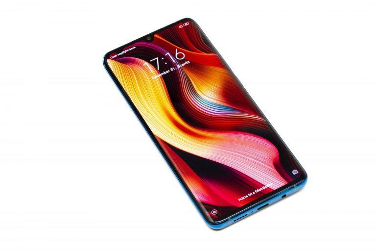 Xiaomi Mi Note 10 okostelefon teszt 3