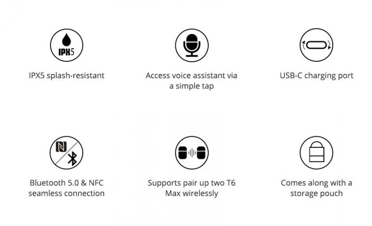Tronsmart T6 Max Bluetooth-os hangszóró 3