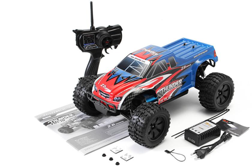 ZD Racing Thunder ZMT-10 távirányítós autó teszt 17
