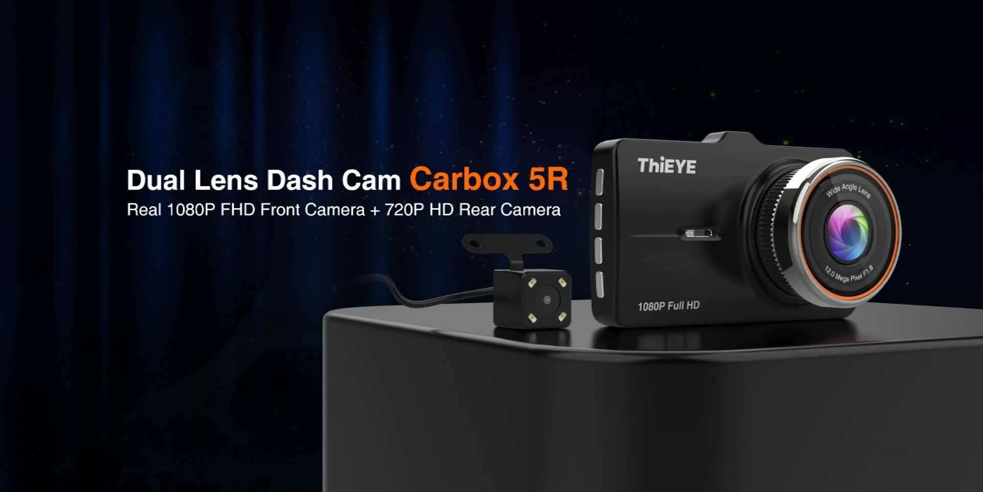 Thieye Carbox 5R DVR kamera teszt 13