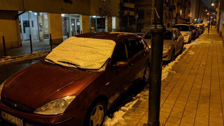 Autó szélvédő takaró teszt 9