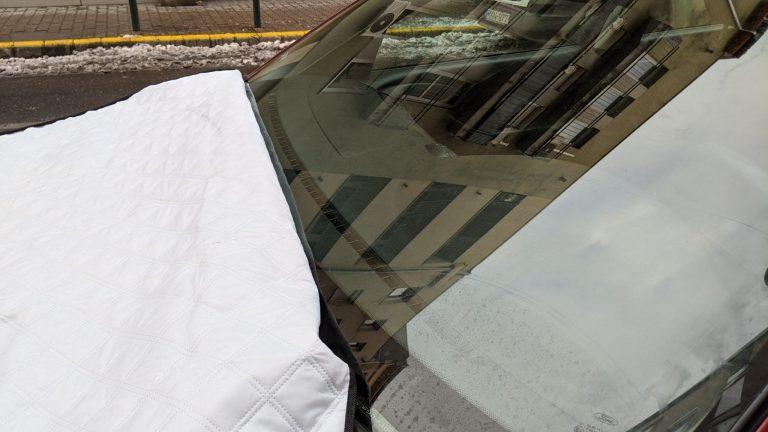 Autó szélvédő takaró teszt 4