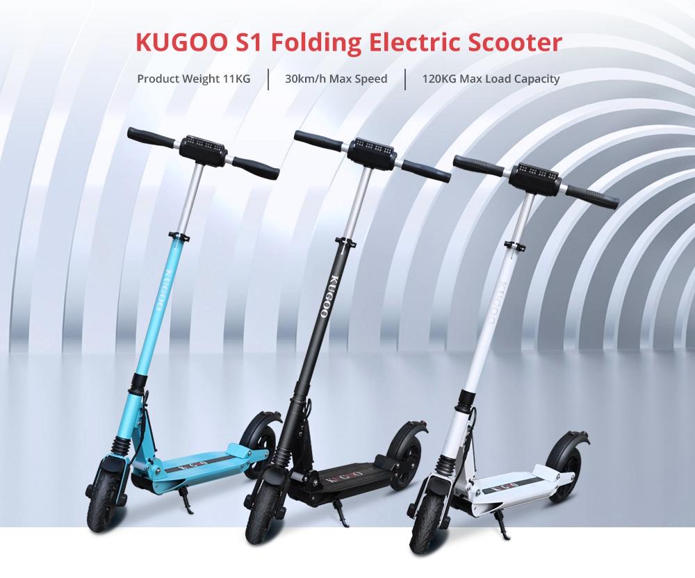 Kugoo S1 elektromos roller teszt 8
