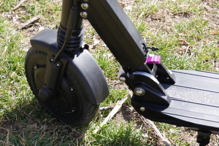 Kugoo S1 elektromos roller teszt 4