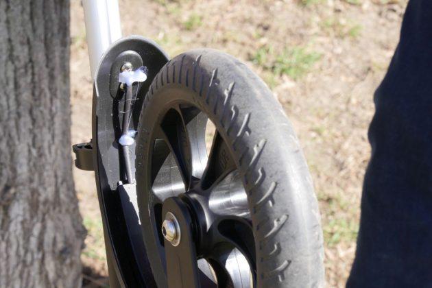 Kugoo S1 elektromos roller teszt 11
