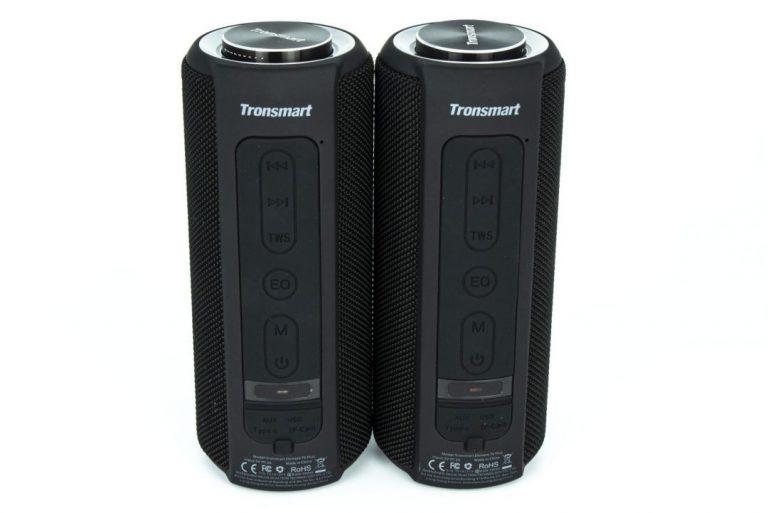 Tronsmart T6 Plus sztereó Bluetooth hangszóró teszt 5